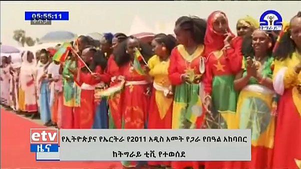 Eritrea-Etiopia: grande festa per la riapertura del confine