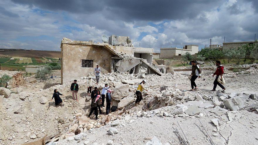 İdlib/Suriye - 08.05.2018