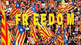 Um milhão nas ruas de Barcelona numa 'diada' pela independência