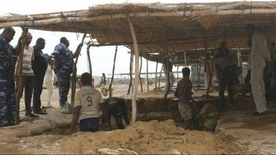 EU-bound child migrants rescued from forced labour in Sudan, say police