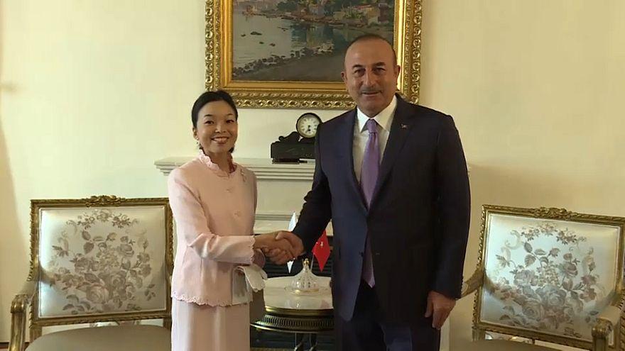 Tırnaklarıyla dikkat çeken Japonya Prensesi Akiko Mikasa Türkiye'de