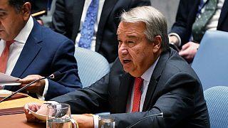 دبیرکل سازمان ملل خطاب به ایران، ترکیه و روسیه: از حمام خون در ادلب جلوگیری کنید