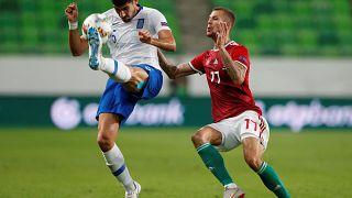 Nations League: Ήττα για την Ελλάδα στη Βουδαπέστη