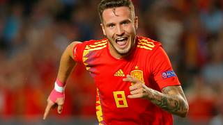 Espanha dá festival de golos