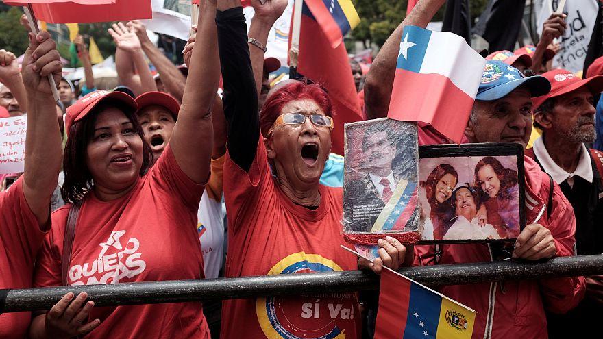 El chavismo saca músculo y exhibe su apoyo a Maduro