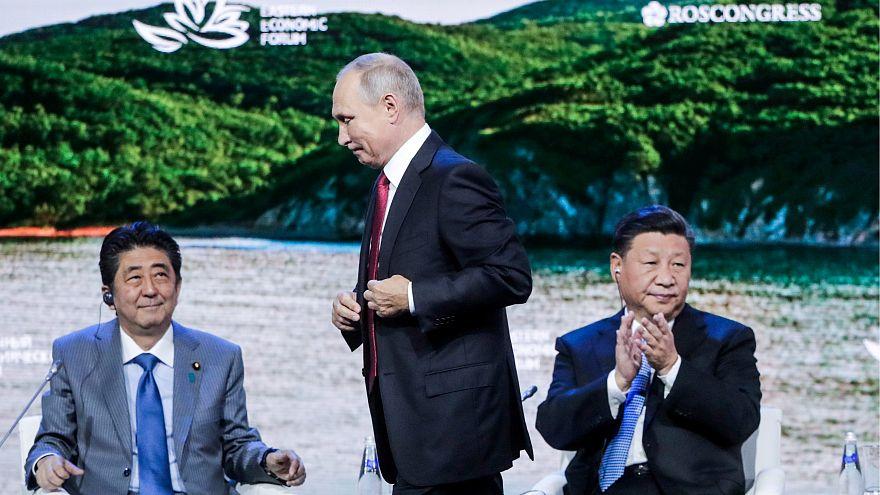 پوتین به نخستوزیر ژاپن: امسال پیمان صلح امضا کنیم