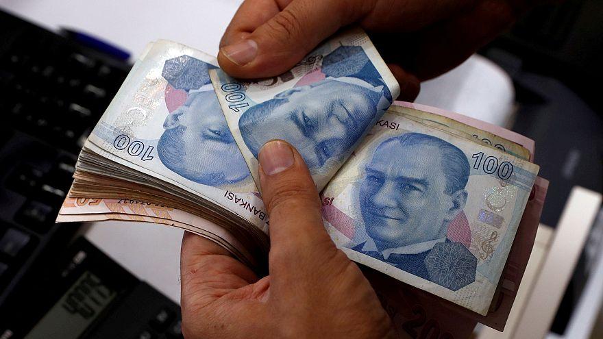 In der Türkei fällt die Lira schon wieder: 3 Prozent an diesem Montag