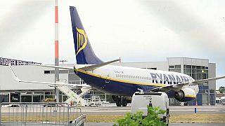 150 vuelos anulados por la huelga de pilotos y auxiliares de vuelo de Ryanair en Alemania