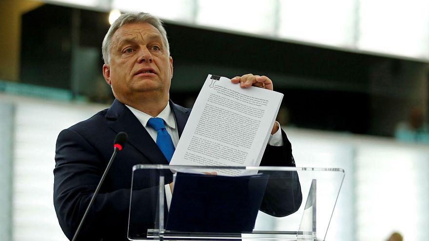 European Parliament votes to trigger Article 7 sanctions procedure against Hungary