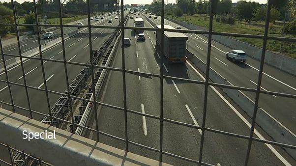 Verstopft, teuer und langsam: Ein Blick auf Italiens Autobahn