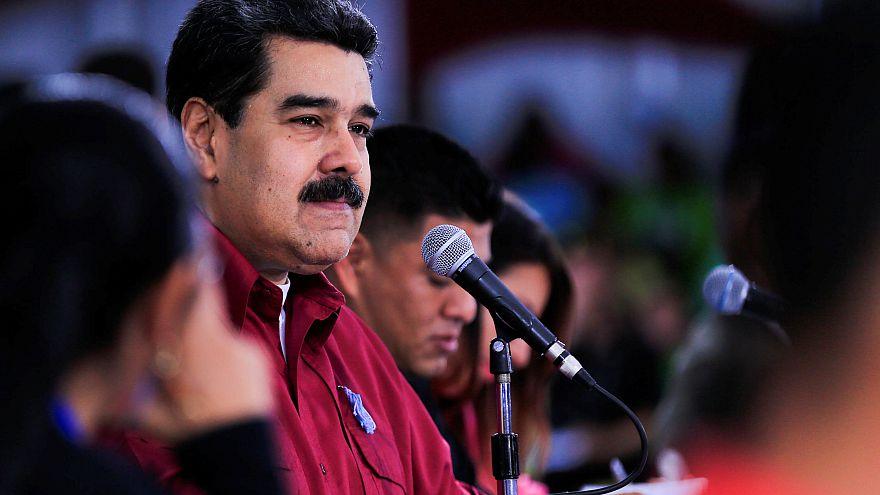 Venezuela lideri Maduro mali kaynak arayışı için Çin'e gitti
