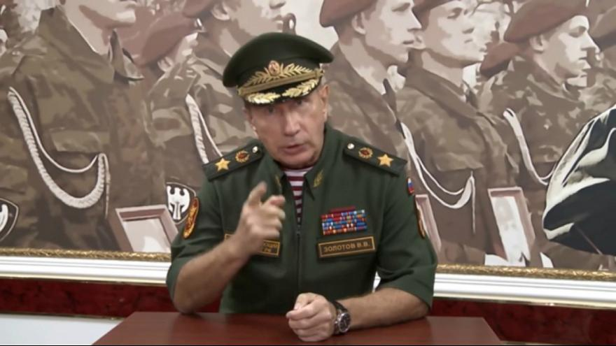 رییس گارد ملی روسیه مخالف پوتین را به دوئل فراخواند