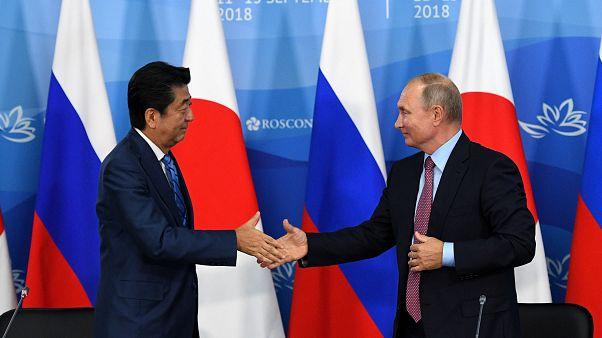 بوتين يقترح عقد معاهدة سلام غير مشروطة مع اليابان