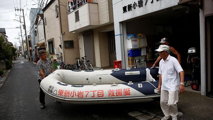 Áradásra készülnek Tokió Kacusika kerületében