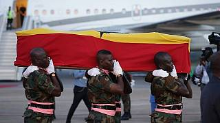 Ganalılar gurur kaynakları Kofi Annan'a son görevlerini yerine getirdi