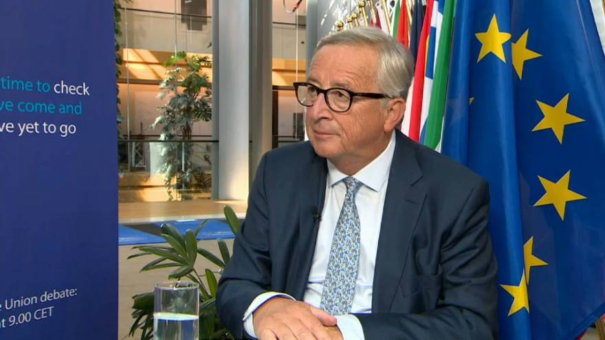 Exclusive: Juncker defends his record, says EU is better off than before
