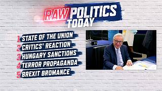 Raw Politics: Juncker's speech, Article 7, copyright law passes