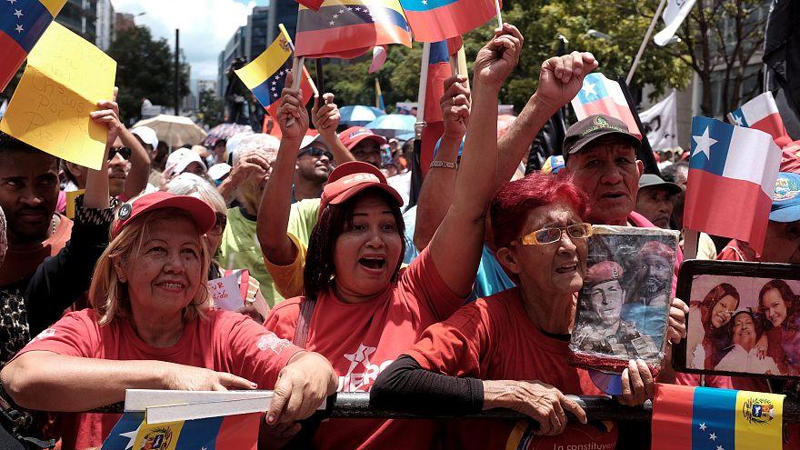 Венесуэльцы поддержали президента