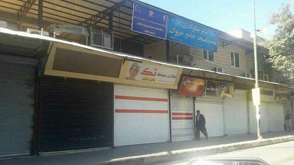 اعتصاب فراگیر در شهرهای کردنشین ایران