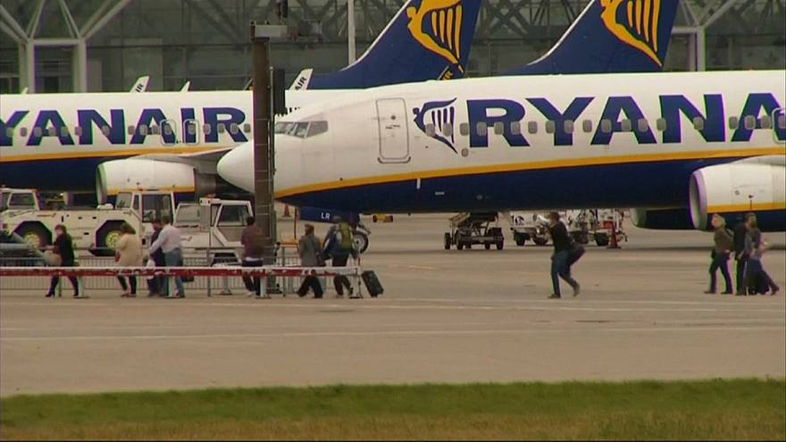 Ryanair-Streik: Harte Bandagen