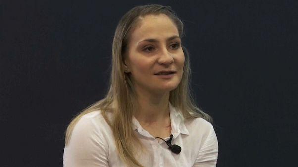 Kristina Vogel, una campeona de la vida