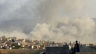 Tiltott vegyi fegyvert vetettek be Szíriában
