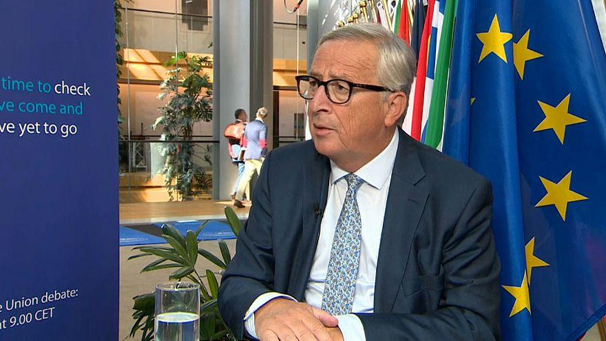 O Estado da União: Juncker defende o seu legado