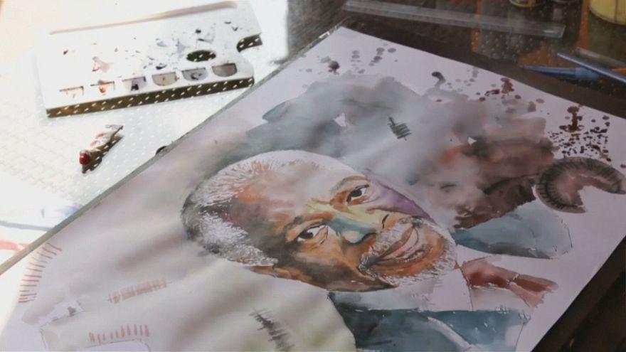 هنرمند غنایی یاد کوفی عنان را گرامی میدارد