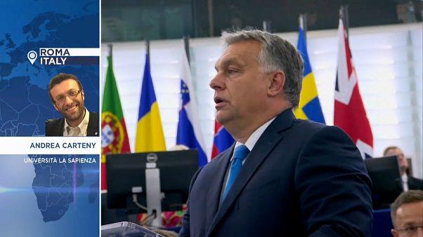 """Scontro Ue-Orban: """"Primo atto della campagna elettorale per le europee"""""""