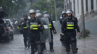 La Policía entra en la Universidad de Costa Rica para detener a estudiantes