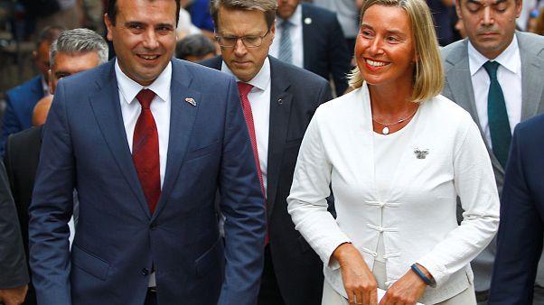 Στην ΠΓΔΜ η Φεντερικά Μογκερίνι