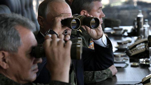 Vladimir Putin de olhos postos no Vostok 2018