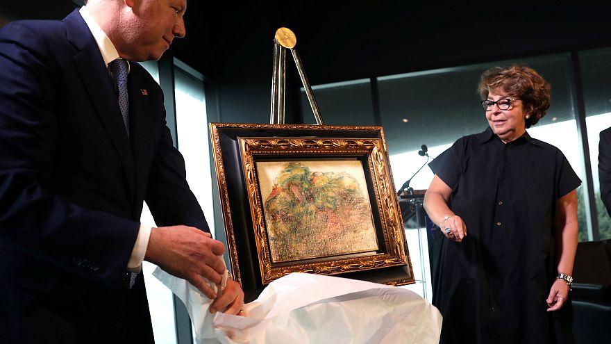 Un Renoir volé par les nazis retourne en France