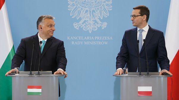 Polonya'dan AB'ye karşı Macaristan'a destek