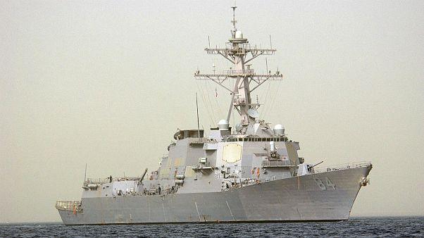 ناوشکن بالکلی آمریکا در خلیج فارس