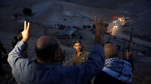 Westjordanland: Israel räumt Protestlager