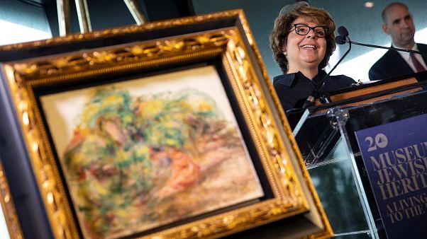 Rubato dai nazisti, Renoir torna alla proprietaria