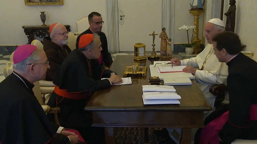 Missbrauchsskandal: Papst trifft US-Kirchenvertreter