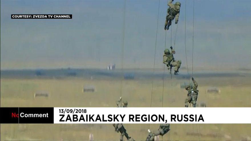 Russisches Militärmanöver Vostok 2018