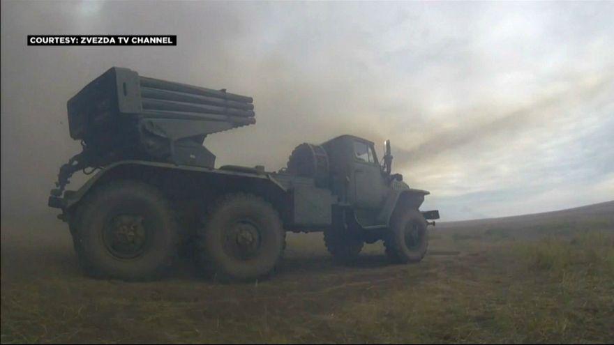 پوتین در رزمایش بزرگ ارتش روسیه در سیبری حضور یافت