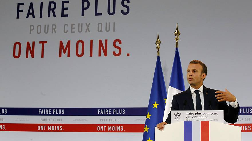 'Zenginlerin Cumhurbaşkanı' Macron'dan yoksullar için 8 milyar euro