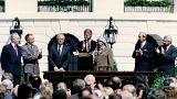 Yaser Arafat, israil, clinton