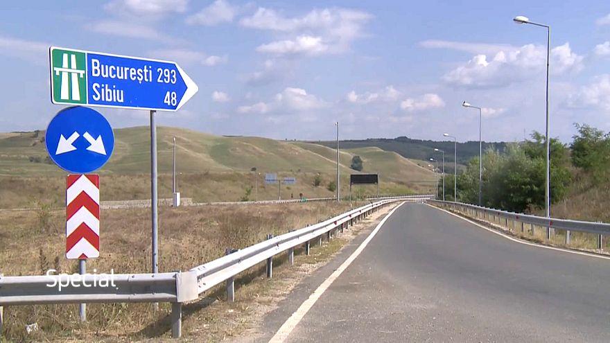 Las autopistas brillan por su ausencia en Rumanía