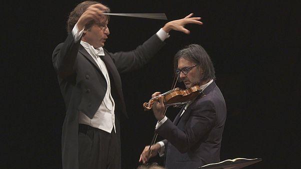 "Leonidas Kavados e il ""Concerto per violino"" di Stravinskij"