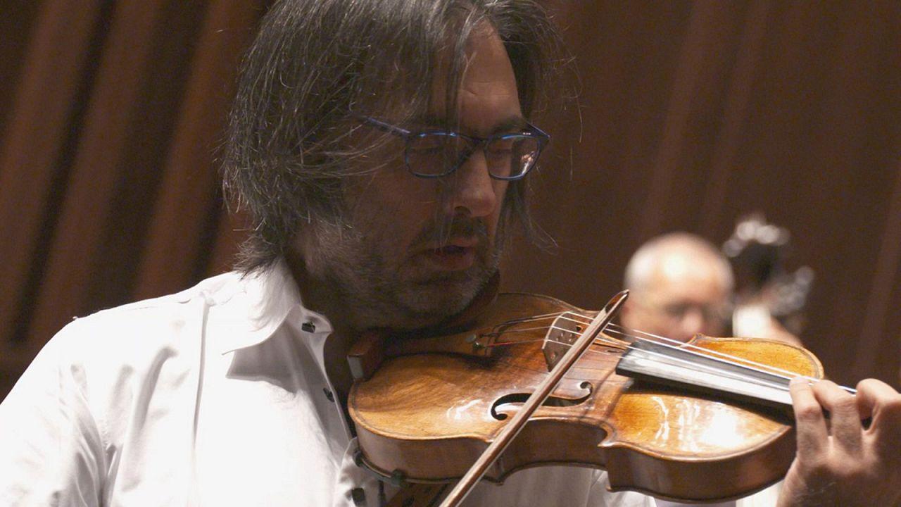 Ses yelpazesini şarap gibi yıllandıran 1734 yapımı Stradivari kemanı