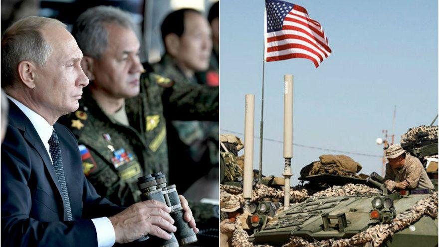 ABD'li askerler Suriyeli muhaliflerle tatbikat yaptı