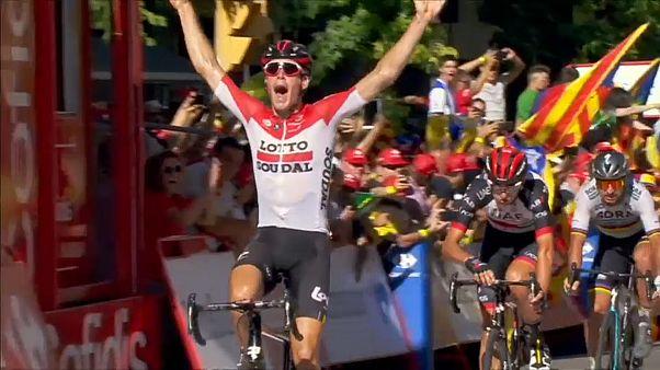 Вуэльта: 18-й этап за бельгийцем