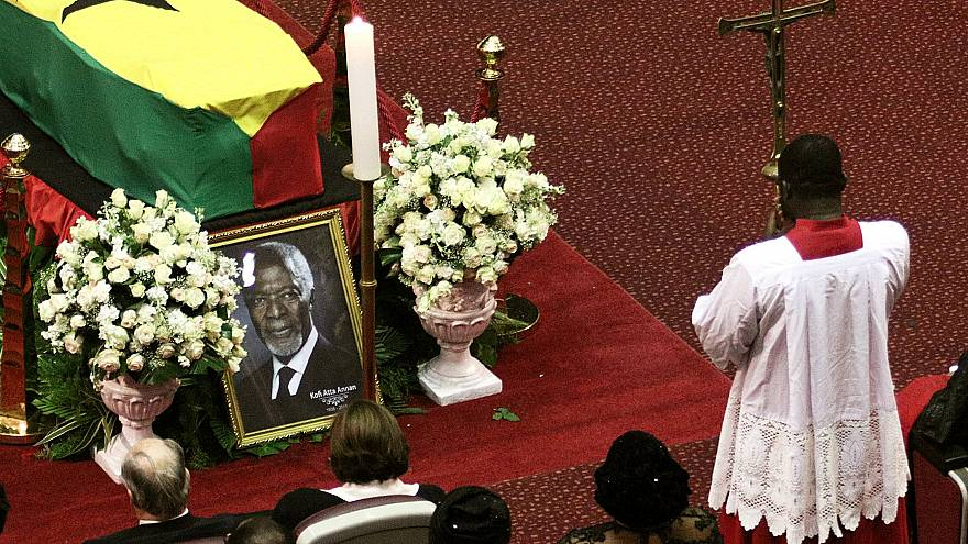 Ghana : les funérailles de Kofi Annan