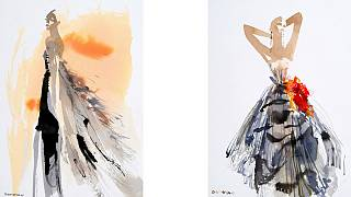 A fashion illustration renaissance