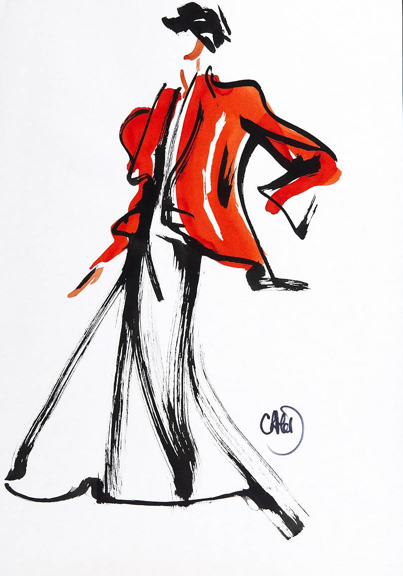 A fashion illustration renaissance | Living